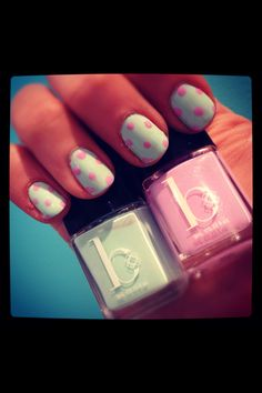 My nails for spring :)))