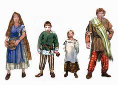 La guerre des Gaules: Famille gauloise