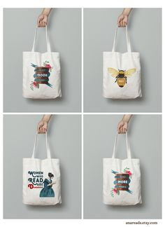 Home Decor & Gifts for Kind Souls by AnaReads Book Lovers Gifts, Gift For Lover, Reading Room Decor, Cotton Tote Bags, Reusable Tote Bags, Free Poster Printables, Gifts For Librarians, Plastic Bags, Book Worms