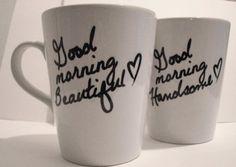 Cute Couple Mugs! #couples #love