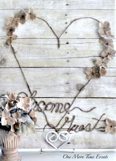 Farmhouse welcome guest wall art sign for your guest room or this could be used at a rustic wedding, reception or event