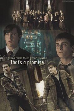 Deathly hallows, harry potter, neville longbottom, order of Harry Potter World, Mundo Harry Potter, Harry Potter Jokes, Harry Potter Universal, Harry Potter Fandom, Neville Harry Potter, Hogwarts, Neville Longbottom, Ginny Weasley