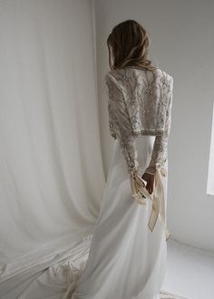 Remi Jacket - Bo and LucaBo and Luca Western Wedding Dresses, Affordable Wedding Dresses, Bridal Dresses, Wedding Gowns, Wedding Jacket, Wedding Coat, Boho Bride, Marie, Ball Gowns
