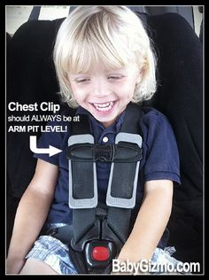 This is the correct place for the car seat chest clip thanks to @BabyGizmo