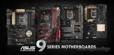ASUS presenta su línea de Motherboards Serie 9 - http://www.tecnogaming.com/2014/05/asus-presenta-su-linea-de-motherboards-serie-9/