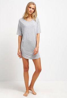 #Gap camicia da notte light heather grey Grigio  ad Euro 30.00 in #Gap #Donna abbigliamento intimo