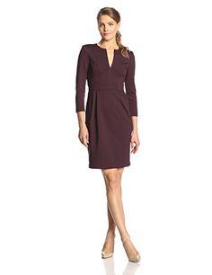 Nanette Lepore Women's Workshop Seamed Ponte Long Sleeve Dress, Merlot, 0 Nanette Lepore http://www.amazon.com/dp/B00MS4HOTG/ref=cm_sw_r_pi_dp_fC5Aub1DRDADK