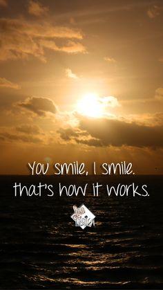 You Smile, I Smile Phone Wallpaper I Lisa Lisica ©.