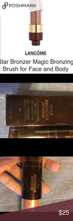 Lancome star  bronzer intense Natural bronzer, soft brush. Lancome Makeup Bronzer
