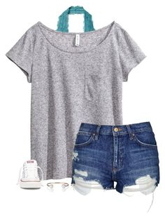 Thanks for 700 followers!! I love all of you!! by savanahe on Polyvore featuring H&M, Topshop, Free People, Converse and Letters By Zoe