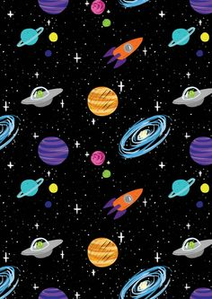 planet, space, and galaxy-bild