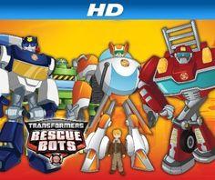 """Трансформеры Rescue Bots Сезон 2, Эп. 24 """"Rise of the Heroes"""" Amazon Instant Video ~ Hasbro Studios, http://www.amazon.com/dp/B00M7ICQZ0/ref=cm_sw_r_pi_dp_LooRub09AY8MA"""