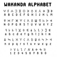 History Discover Seduced by the New.: World of Wakanda: Alphabet Alphabet Code Alphabet Symbols Sign Language Alphabet Glyphs Symbols Tattoo Alphabet Script Alphabet Alphabet Art The Words Different Alphabets Alphabet Code, Sign Language Alphabet, Alphabet Symbols, Glyphs Symbols, Tattoo Alphabet, Script Alphabet, Alphabet Art, The Words, Different Alphabets