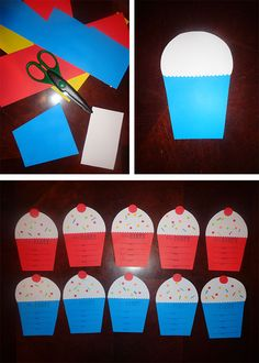 Home made birthday party invitations