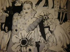 70's fashionistas fabric