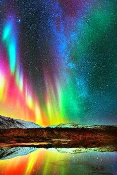 God's paintbox. Incredible ~ Dreamy Nature                                                                                                                                                                                 More