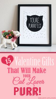 15 Valentine Gifts That Will Make Your Cat Lover PURR!