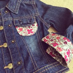 Wren's new Liberty of London jacket - cheap jacket from asda with some appliqué