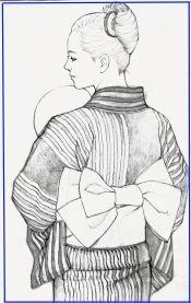 浴衣素描調整1枠ありブログ Kimono, Portraits, Photos, Prints, Drawing Drawing, Pictures, Head Shots, Kimonos, Portrait Paintings