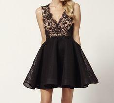 Sexy Lace Stitching Dresses