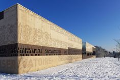 Albert Camus Multimedia Library in Evry, France by de-so