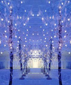 winter wonderland wedding   Winter Wonderland Ceremony   Inspirations