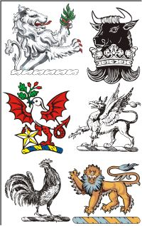 I have two Family Crest  English and Scottish!