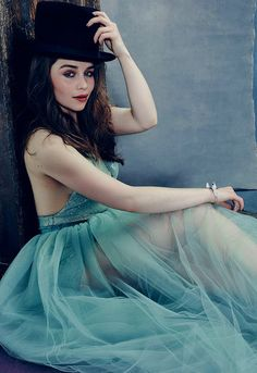 Emilia Clarke | by Miller Mobley for The Hollywood Reporter (April 2015)