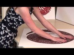 Free Motion Thread work could be added to Art Quilt--Meredith Woolnough