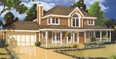 This 2 story Southern features 1,522 sq feet. Call us at 866-214-2242 to talk to a House Plan Specialist about your future dream home!