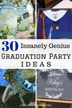 Looking to throw a memorable graduation party? We have 30 DIY graduation party ideas that are sure to wow your guests. Graduation Party Desserts, Outdoor Graduation Parties, Graduation Party Planning, Graduation Diy, Theme Ideas, Party Ideas, Holiday Party Themes, Party Planning Checklist, College Tips