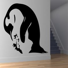 Penguin And Baby Animal Wall Art Stickers Wall Decal