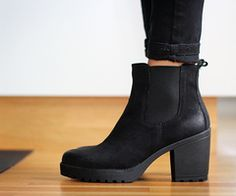 Vagabond Grace boots. These have really good grip for winter use.