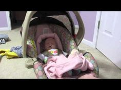 Reborn Babies Girls In Carseat