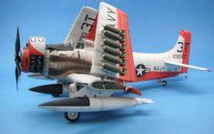 1/32 Zoukei-Mura Skyraider by Ed Kinney