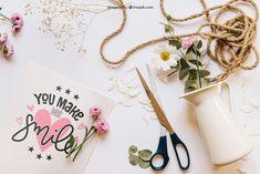 Template Gratis | Mockup romántico con cuerda
