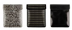 From left to right you have the python print, black sand, and iguana skin last by Azzedine Alaïa. $1299 each.