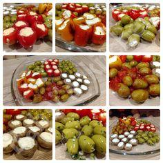 VEGETARISCHE ANTIPASTI VARIATIONEN Rezept: http://babsiskitchen-foodblog.blogspot.de/2018/05/vegetarische-antipasti-variationen.html