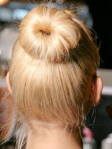 Beautiful Bun Ordinary Hairstyles For School Girls
