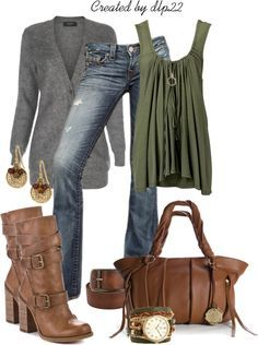 """""""Casual & Comfortable for Fall"""" by dlp22 on Polyvore"""
