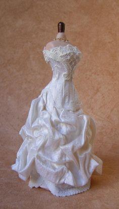Miniature Bridal Gown