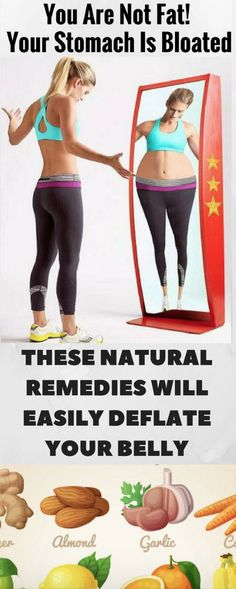 YOU'RE NOT FAT – YOU'RE BLOATED! THESE NATURAL REMEDIES WILL EASILY DEFLATE YOUR BELLY – Toned