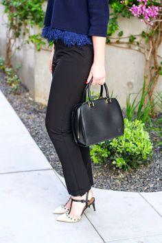 Black Louis Vuitton bag!