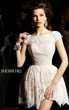 I love that Sherri's designs are always the perfect balance of Elegance, Sophistication, Beauty & Charm! Sherri Hill 2957. By Sherri Hill