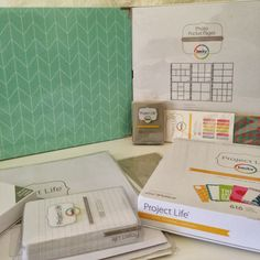 Getting Started: Project Life ---- sold at hobby Lobby, would be a great deal with 40% off coupons!!!! ;) ;) .... hint hint