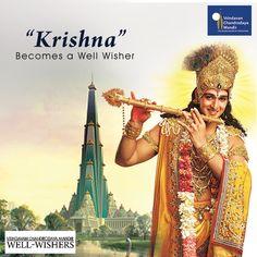 Krishna of Mahabharat, Saurabh Jain, a actor becomes a Well-wisher of the Mandir.