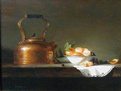 Leah Lopez :: Paintings :: Sweet Summer Oranges