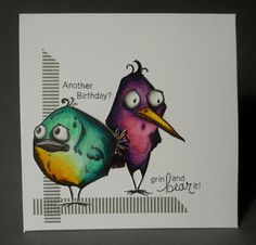 Craftilicious: Sad Birthday Birds