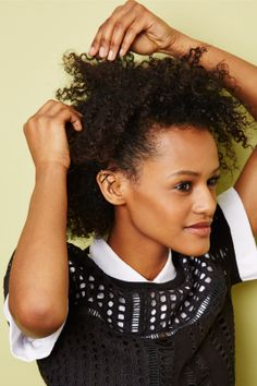 Naturally Gorgeous Spring Hair #refinery29  http://www.refinery29.com/african-american-hair-guide#slide4  Begin to arrange your hair into the shape you want it.