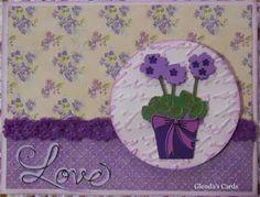 Glenda's Cards: Die Cuttin' Divas - Ch. 306 Ribbons and Bows